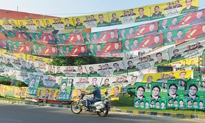 Footprints: The NA-122 battleground