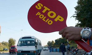 Year's first polio cases detected in Punjab, Karachi