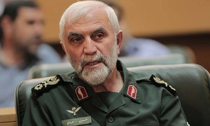 Iranian Revolutionary Guards say general killed in Syria