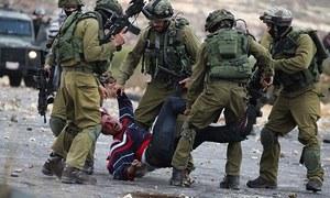 اسرائیلی فورسز کی فائرنگ، 6 فلسطینی ہلاک