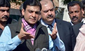Don't tease the lion, Hamza tells Imran