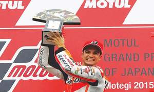 Pedrosa wins Japanese MotoGP, Rossi adds to lead