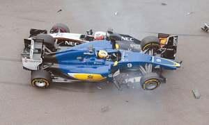 Mercedes take title as Hamilton prevails