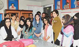 High security for Aseefa's visit to Lyari college irks many