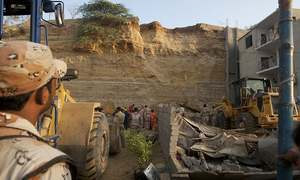 At least 13 killed as rockslide hits shacks in Karachi