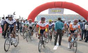Tour de Galyat national bicycle race begins