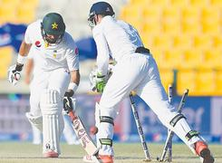 Comment: Dramatic draw livens dreary Test
