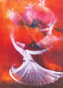 COVER:  For the love of Rumi: A Mirrored Life by Rabisankar Bal