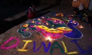 Festival of lights: Diwali celebrations across the globe