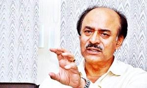 Khuhro blames Centre for Sindh's slow progress