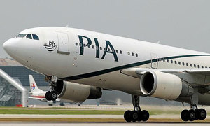 PIA pilot turns back after cabin window cracks