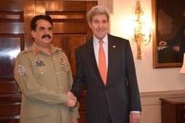 Need for regional security dominates Kerry-Raheel talks