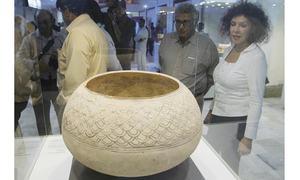 Exhibition of prehistoric Balochistan pottery opens