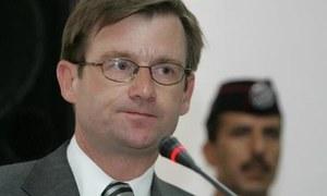 US ambassador designate welcomed to Pakistan