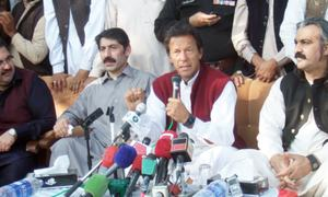 Imran says LG system of KP better than Punjab's
