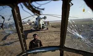 Taliban capture 13 Afghan soldiers after helicopter crash