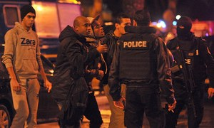 12 killed in blast targeting Tunisia's presidential guards