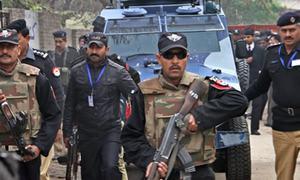 33 held in operation around Kohat jail