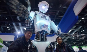 China dreams of electric sheep at robot conference