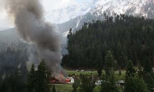 Timeline: Prominent military aircraft crashes in Pakistan