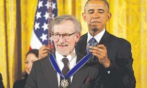 سٹیون سپیلبرگ کے لیے اعلیٰ سویلین اعزاز
