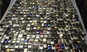 'Biggest lot' of illegal mobile phones seized from PIA staffer
