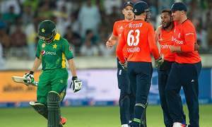 2nd T20: Quick wickets hurt Pakistan's chase of 173