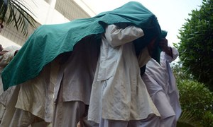 Nine LJ 'militants' held; seminary sealed in Lahore
