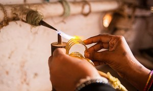 Cut from glass: The perilous lives of Hyderabad's bangle makers