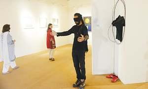 Birwa opens at Gallerie Sadequain