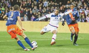 Lyon slump to 4-2 home defeat by Montpellier