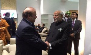 Nawaz-Modi Paris interaction: Will Modi follow up with a meaningful gesture?