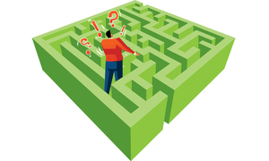 Lost in a branded maze