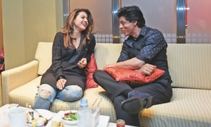 Keeping it real with SRK, Kajol
