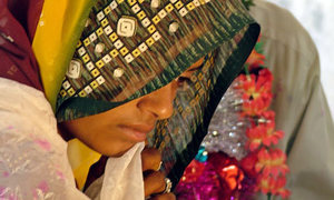 Groom, 22 others held at six-year-old girl's wedding in Umerkot