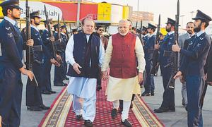 Sharif, Modi spring surprise at Jati Umra