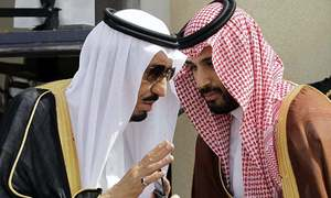 The Saudis talk the talk — again