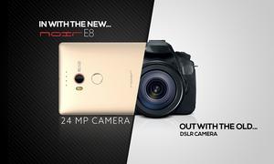 Noir E8: QMobile's 24 megapixel flagship phone launches on Daraz.pk