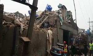 Gujranwala factory roof collapses, at least 28 injured