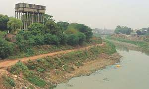Pollution: Open drainage