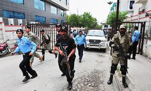 Police violating policy on official security guards