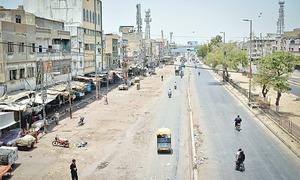 Karachi sewers blocked deliberately with sacks: LG minister