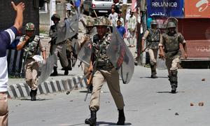 نوجوان کی لاش برآمد ہونے کے بعد کشمیر میں مظاہرے