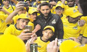 Afridi to take along 150 APS students to PSL