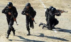 Commandoes to train school guards in Pindi