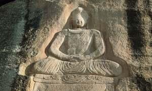 پاکستان میں ڈیڑھ ہزار سال قدیم بدھا کا مجسمہ