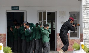 Counter-terrorism drills conducted in schools across Peshawar