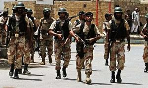 Karachi operation has not slowed down, says Rangers chief
