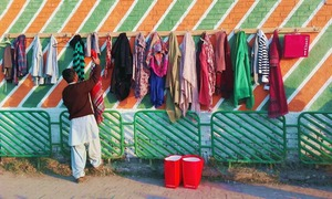 Don't need it? Leave it here: Peshawar gets its own version of Deewar-i-Meherbani