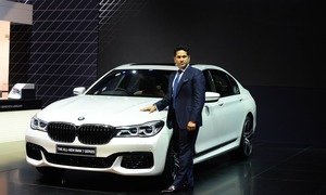 Indian auto show exhibits SUVs, super bikes alongside cricket stars